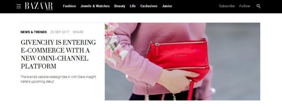 Harpers Bazaar SG